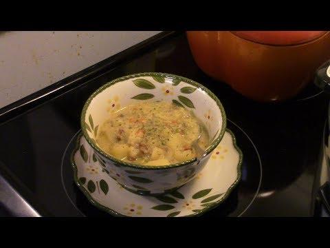 Pressure Cooker Potato and Leek Soup
