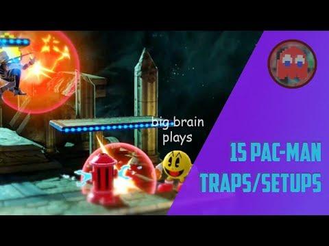 15 Pac Man Traps And Setups ~ Smash Ultimate
