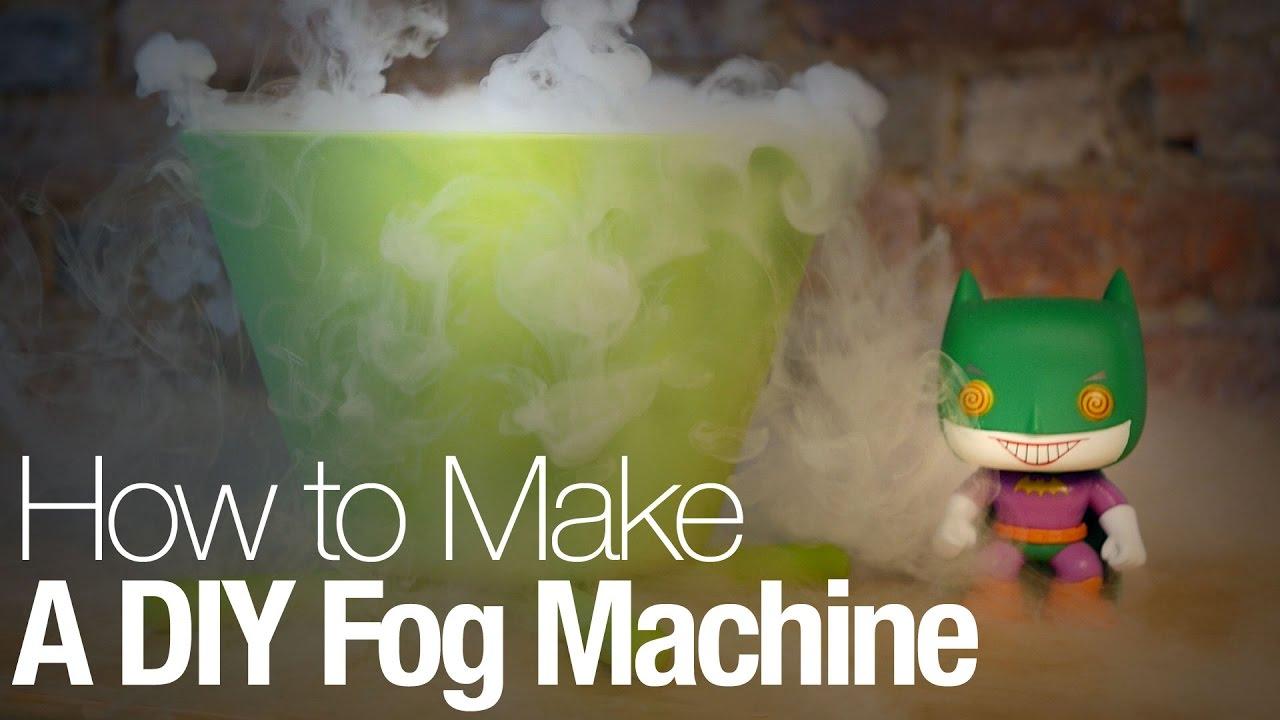 How To Make A Diy Fog Machine This Halloween