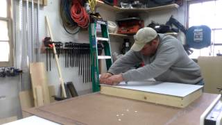 Tablesaw Router Extension Wing Part 2