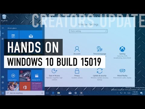 Windows 10 Creators Update (build 15019): Hands-on with all the new features
