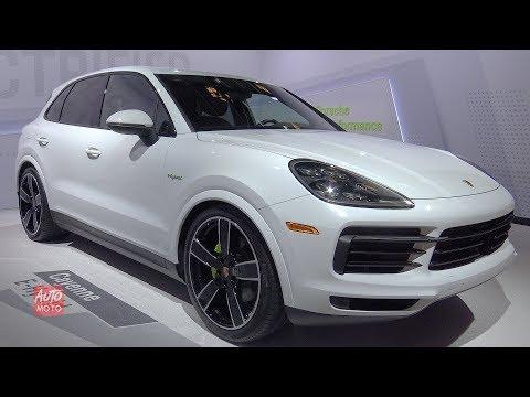 Porsche Cayenne e-Hybrid - Exterior And Interior Walkaround -  LA Auto Show