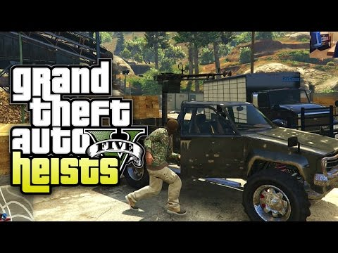 Grand Theft Auto V Heists - Part 17 - Weed (Heist #4 Series A Funding)