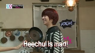 Global We Got Married S2 EP03 Making Film#1 (Super Junior Heechul & Puff) 140423 (슈퍼주니어 김희철 & 곽설부)