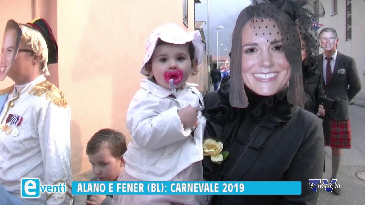 EVENTI - Alano e Fener (Bl): Carnevale 2019