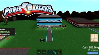 Roblox roblox superhero tycoon (Power Ranger)