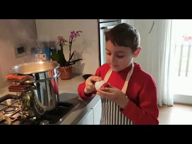 Filippo Waingunga - Marzo 2020 - Cucina in casa