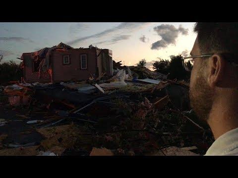 Couple survey house devastated by Ottawa tornado