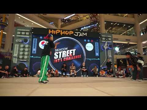 "SmallBlack HipHop Battle 'Semi Final ''[ Seacon Street Challenge ]"" Bangkok Thailand."
