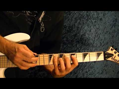 Hot For Teacher Intro by VAN HALEN - Guitar Lesson - Eddie Van Halen