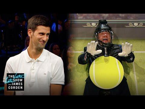 Target Practice w Novak Djokovic