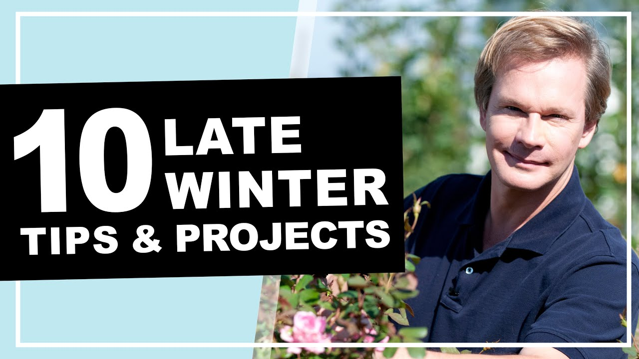 10 Late Winter Gardening Tips Projects P Allen Smith 2020
