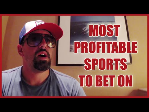 Most Profitable Sports to Bet On | Sports Betting 101