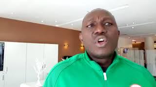 ALGERIA VS NIGERIA: Super Eagles Co-ordinator Patrick Pascal Speaks With Dare Esan In Constantine