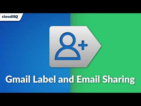 Gmail Label And Email Sharing: Feature Rich CRM Tool!