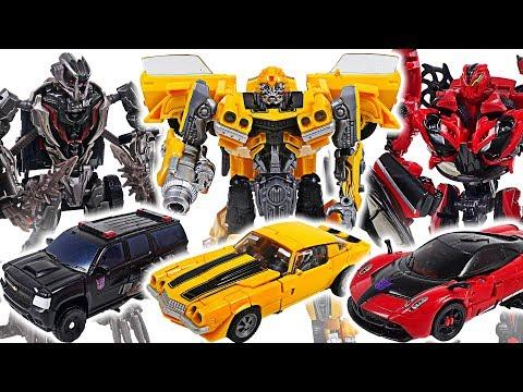 Transformers Studio Series Autobot Bumblebee vs Decepticon Stinger, Crowbar! - DuDuPopTOY