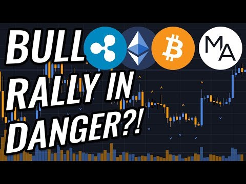 CAUTION: Bull Rally In Bitcoin & Crypto Markets In Danger?! BTC, ETH, XRP, Crypto & Stocks News!