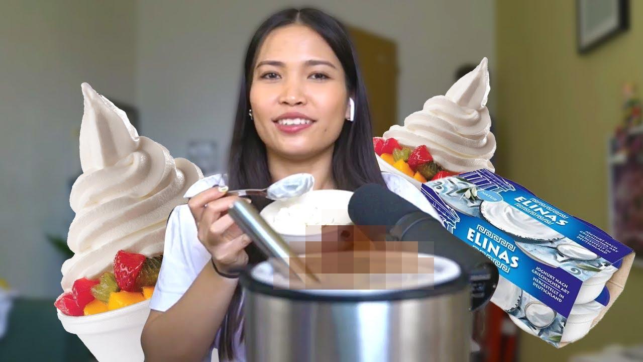 Hazel macht Frozen Yogurt selbst (heftiger fail)