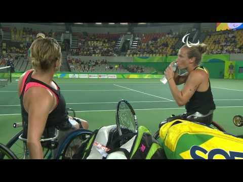 Wheelchair Tennis   NED v GBR   Women's doubles Semifinals   Rio 2016 Paralympic Games