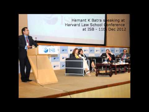 Harvard Law School - The Future of the Legal Profession Conference at IBS