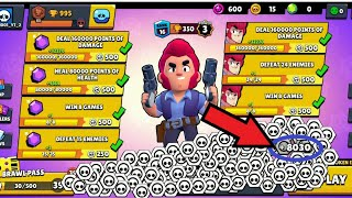 I Got 8030 TOKENS in a ROW!!😱 New World Record!!🌍 - Brawl Stars
