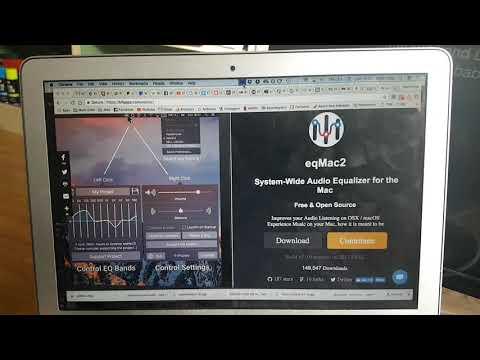 eqMac2 - Free Computer Wide EQ for Mac