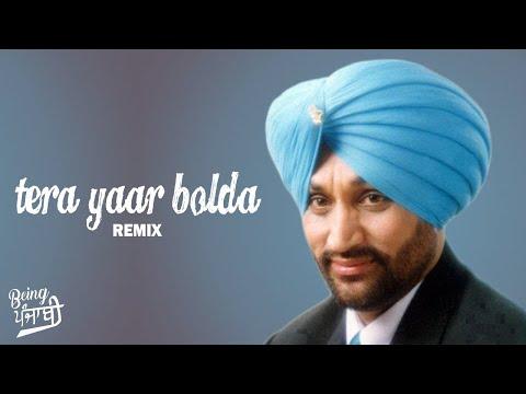 Tera Yaar Bolda - Surjit Bindrakhia (DHOL MIX) | Dj Hans & Dj Sharoon | Bindrakhia Punjabi Songs