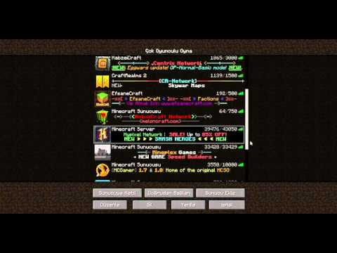 MineCraft En İyi Server İpleri