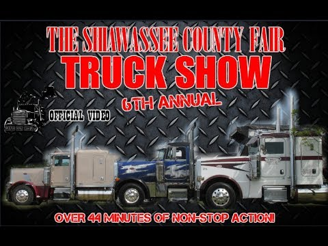 The Shiawassee County Fair Truck Show of 2017 (OFFICIAL VIDEO)