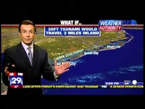 What If A Tsunami Hit Southern New Jersey Coast