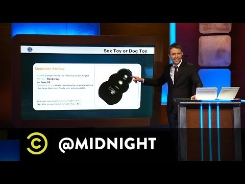 James Adomian, June Diane Raphael, Mike Lawrence  Sex Toy or Dog Toy  @midnight w Chris Hardwick