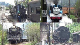 【大井川鐵道】SL急行かわね路号&きかんしゃトーマス号