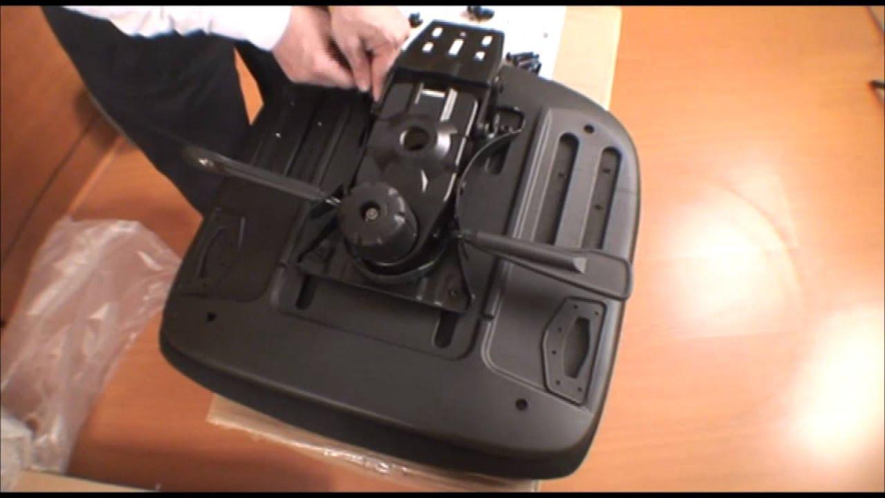 Silla maska 2 armado youtube for Arreglar silla oficina se queda baja