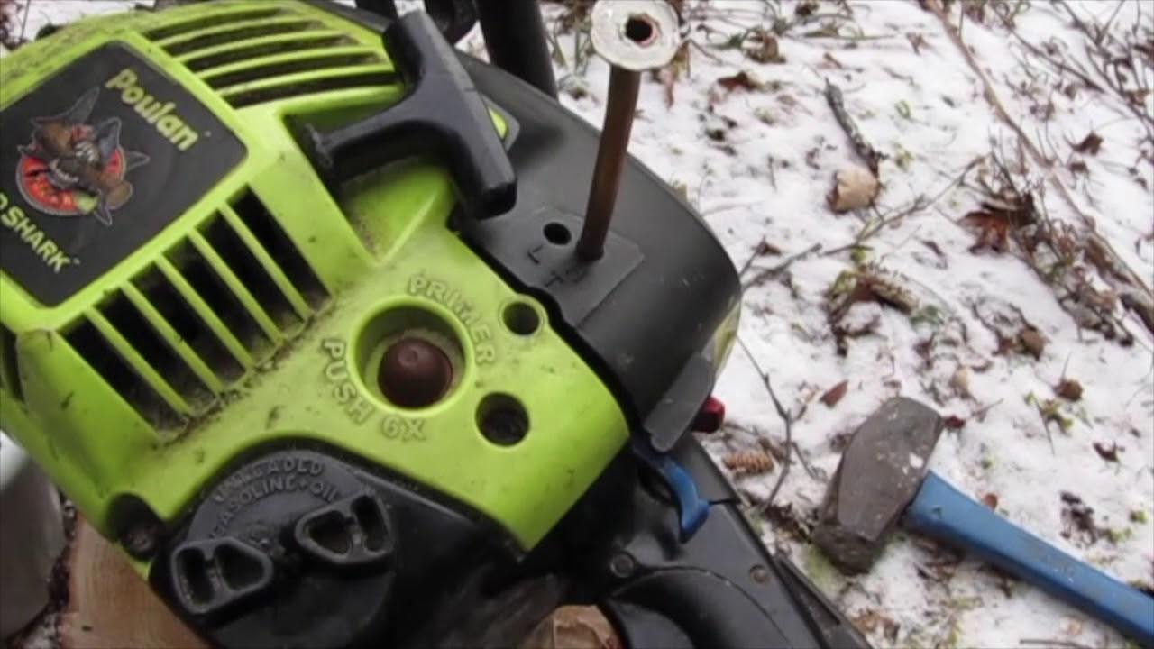 Homemade Chainsaw Carb Adjusting Tool Poulan