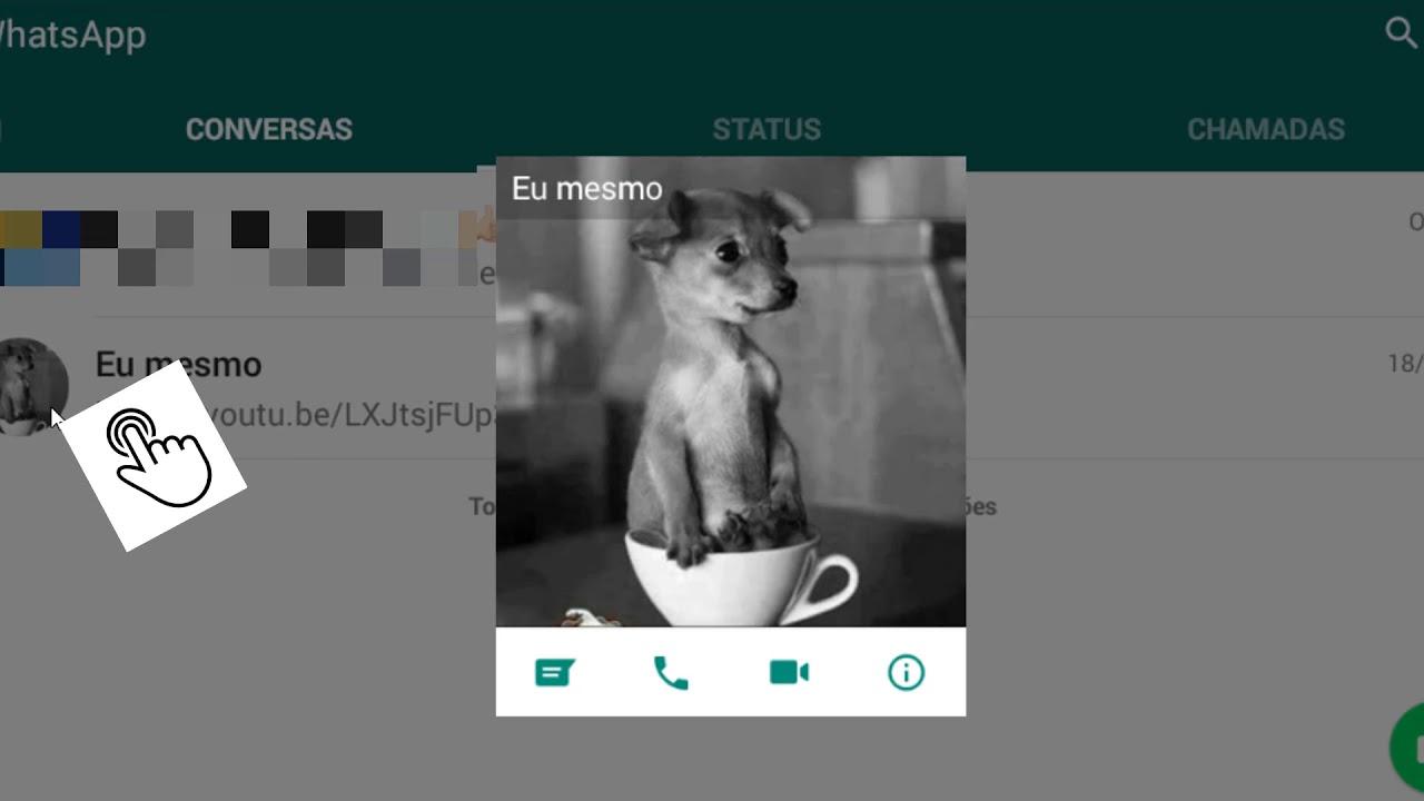 Como Visualizar E Salvar A Foto De Perfil Dos Seus Amigos Do Whatsapp
