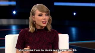 [Vietsub] How Taylor Swift handled rude interviewer