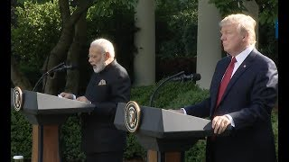 Trump And India's Prime Minister-Full event