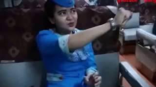 Video Viral  Pramugari CANTIK !! GA SADAR PEGANG TI download MP3, 3GP, MP4, WEBM, AVI, FLV November 2017