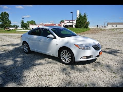 2011 buick regal cxl turbo sedan white for sale dayton troy piqua sidney ohio cp13543 youtube. Black Bedroom Furniture Sets. Home Design Ideas