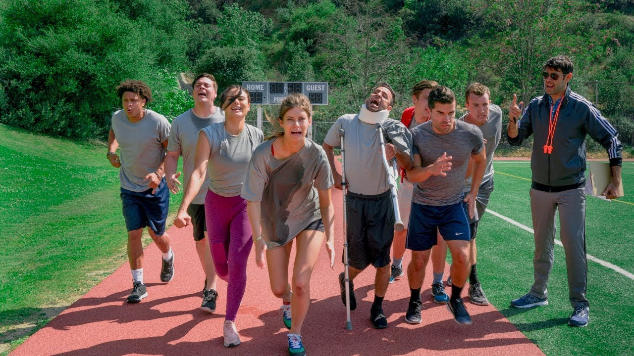 Timed Mile in P.E.   Hannah Stocking & Anwar Jibawi
