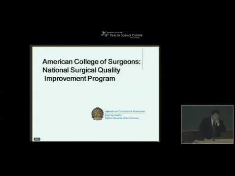 GR 08 06 12   American College of Surgeons National Surgical Quality Improvement Program   Dr  Ronal
