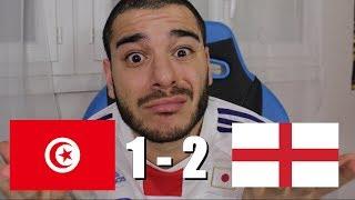 INCROYABLE ! QUE ÇA SE MANGE DES BUTS EN DERNIÈRES MINUTES...  (ANGLETERRE 2 -1 TUNISIE)