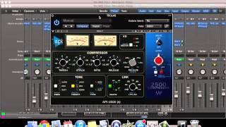 video tutorial api 2500 compressor