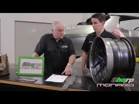 Harrop Specs Forgeline ZX3P Wheels on Shqrp Monaro
