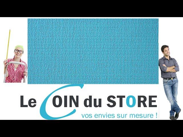 Toile PVC pour pergola et store Soltis Perform 92 Tuquoise bleu 50271 Serge Ferrari
