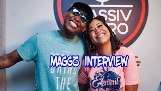 Respected rapper, Maggz, speaks on where he has been and life during COVID-19 on #TheElement