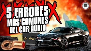 Los 5 errores más comunes dentro del car audio   AudioOnline