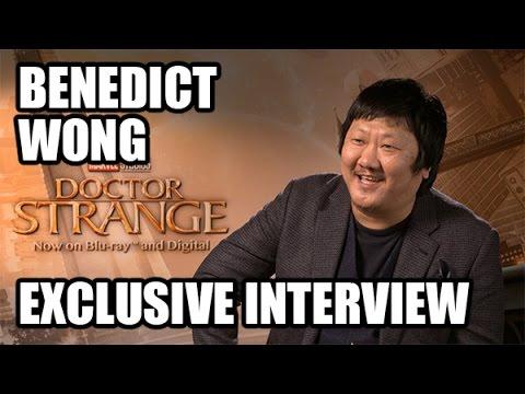 Benedict Wong - Marvel's Doctor Strange Exclusive Interview