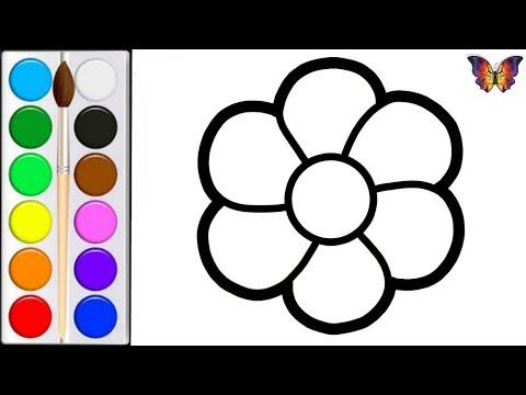 Вопрос: Как нарисовать цветок?