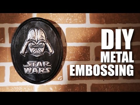 DIY Metal Embossing feat. Daniel Fernandes | Star Wars Special